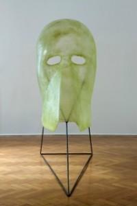 Patrick Tuttofuoco, Cameron 4, fibra di vetro e acciaio, cm 200x225x85, 2009