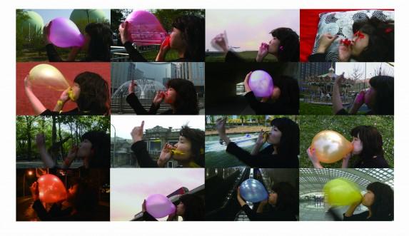 Wang Rui, Pressure III, 2 mins single channel video, 2013